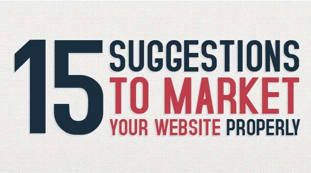 Market Your Website Properly