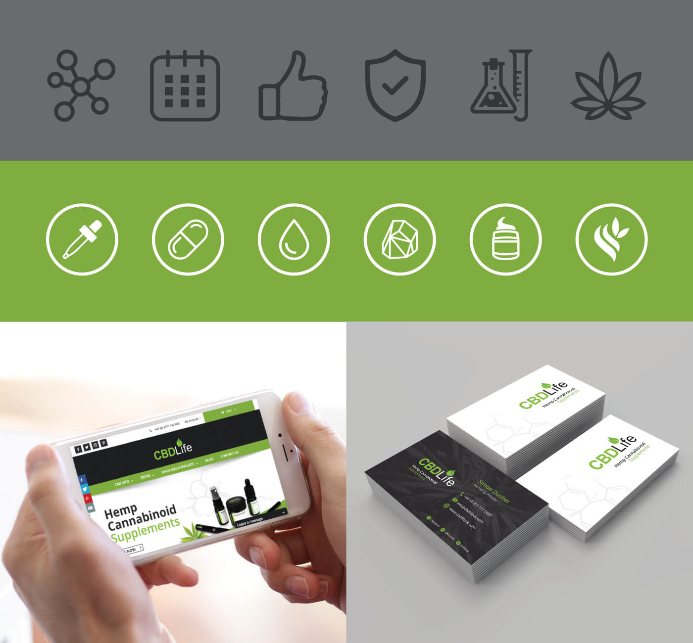 CBDLife UK Business Cards