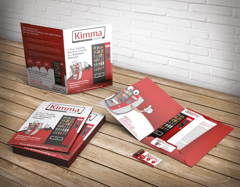 Kimma Vending Presentation Folder