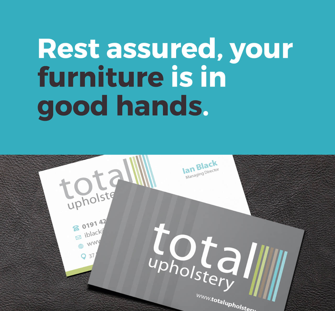 Total Upholstery Slogan