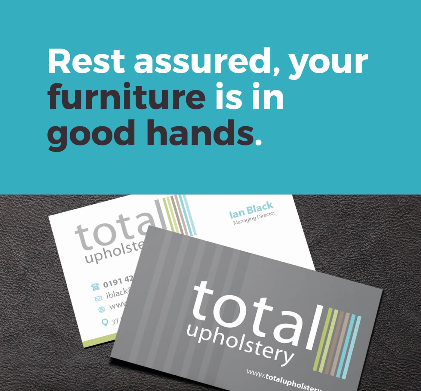 Total Upholstery Slogan