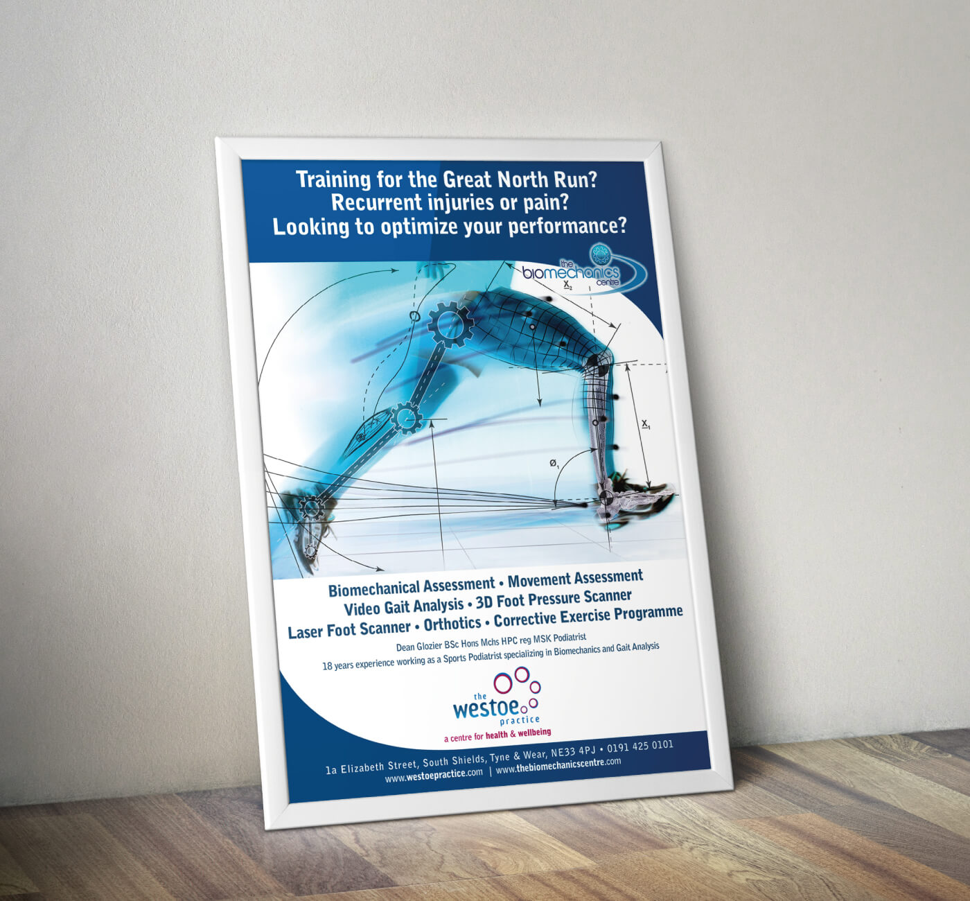 Westoe Practice Biomechanics Poster