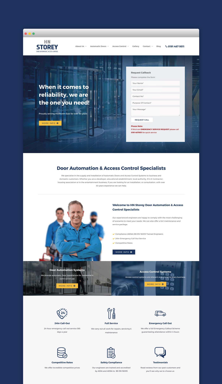 HN Storey Web Page