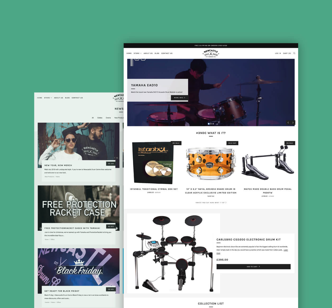 Newcastle Drum Centre Web 1