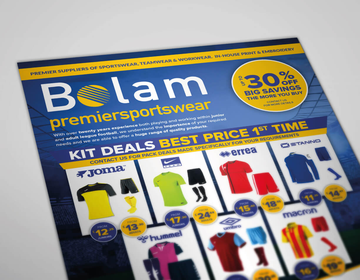Design for Print Bolam Perspective Flyer