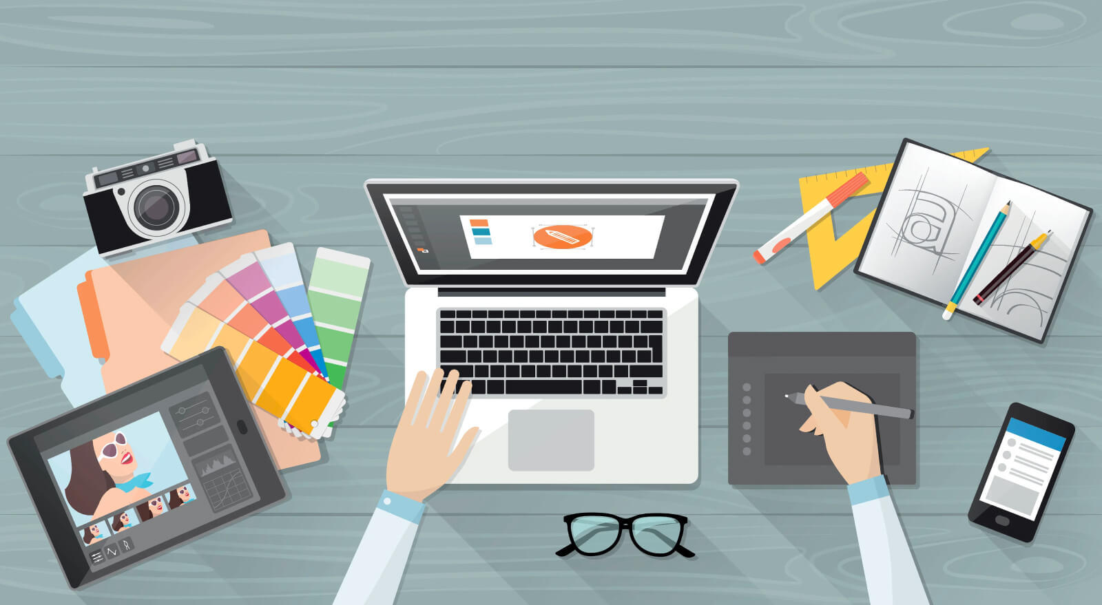 Read more about the article 9 Ways Web Design Is Different Than Graphic Design